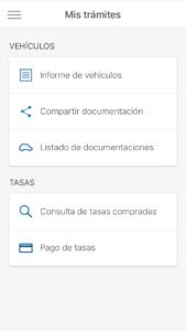 Trámites en la app de carnet de conducir en el móvil (Android/iPhone) con validez legal