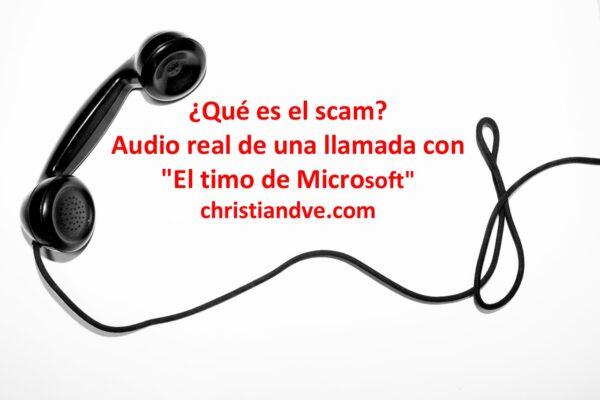 ¿Qué es el scam?